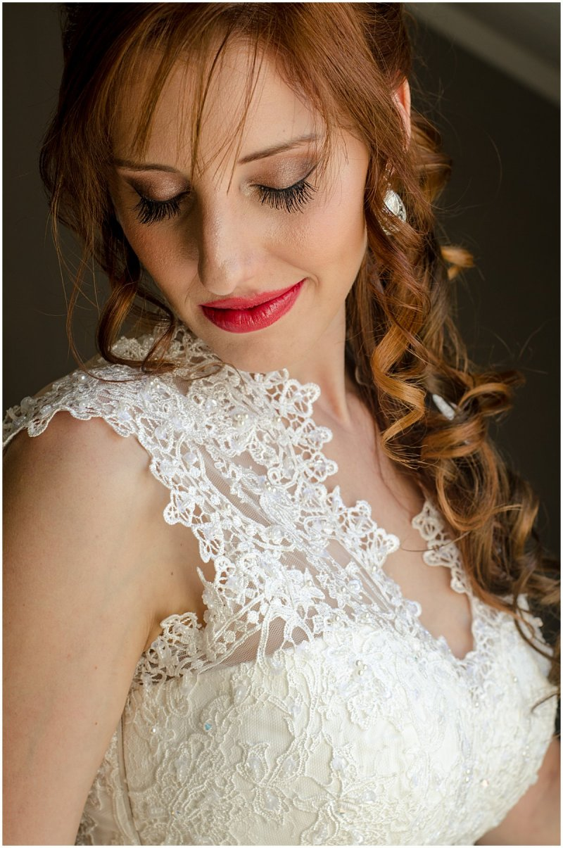 bridal portrait allesverloren wedding
